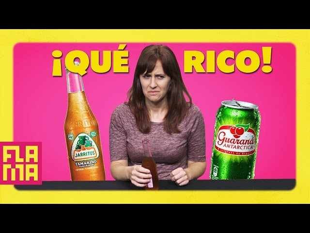 Americans Try Latino Sodas