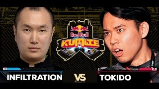 Red Bull Kumite 2016 : Tokido vs. Infiltration - Winners Grand Final