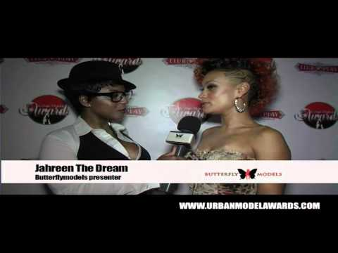 Butterflymodels - The Urban Model Awards Red Carpet 2011 with Jazanti