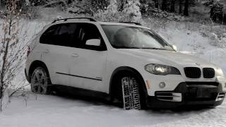 BMW X5 Winter Driving