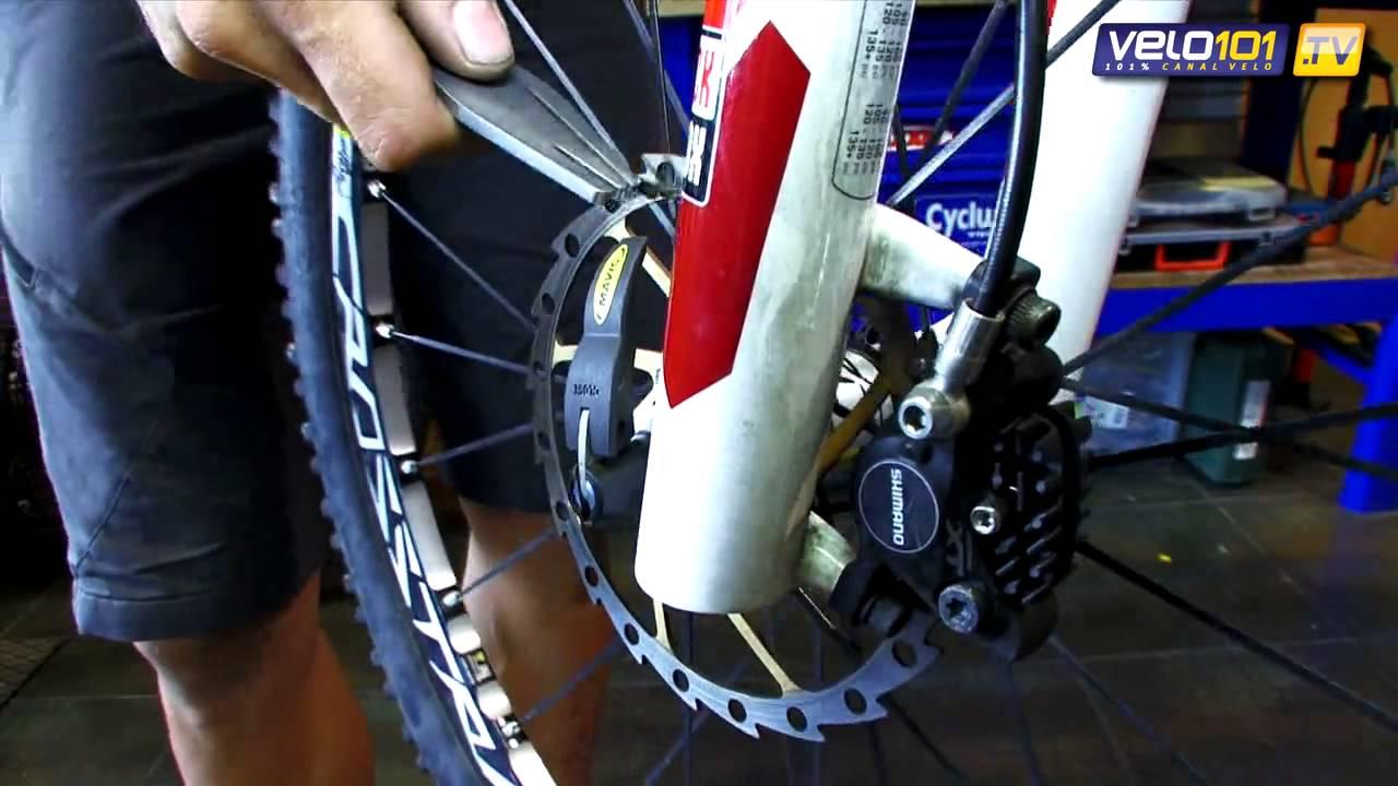 Lubrifiant Vélo T9   Leçon de mécanique   Installer et dévoiler un disque de frein