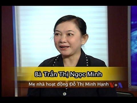 Phỏng vấn mẹ nhà hoạt động Minh Hạnh trước phiên điều trần