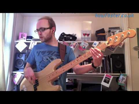 The Whispers - 'And The Beat Goes On' bass playalong by Huw Foster