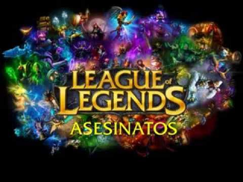 Asesinatos League of legends (sonidos)