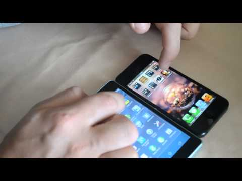 Обзор Sony Xperia ZR vs Apple IPhone 5