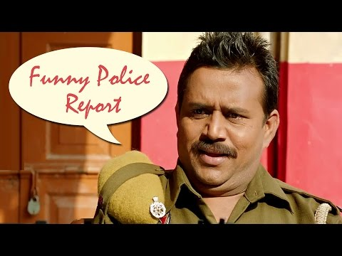 Funny Police Report - Punjabi Comedy Scene | Jatt James Bond
