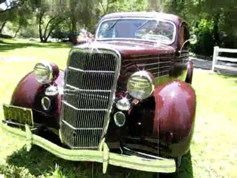 1935 ford deluxe 5 window coupe for sale youtube for 1935 ford 5 window coupe for sale