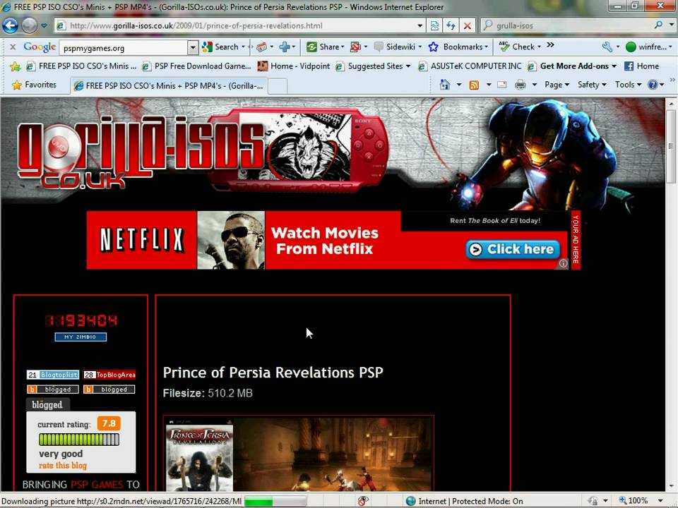 free game downloading sites for psp