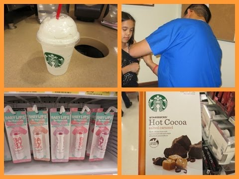 VLOG: 12-18-13. {Doctor's Office, Target Haul, and Car Singing!}