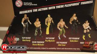Mattel WWE FlexForce Closeup Wrestling Figures Toy Fair