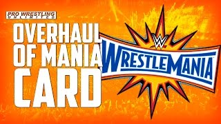 Huge Overhaul Taking Place With The WrestleMania 33 Card