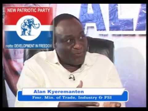 GOOD EVENING GHANA EXCLUSIVE WITH ALAN KYEREMANTEN