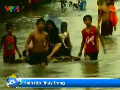 Bão Nalgae gây thiệt hại nặng nề ở Philippines