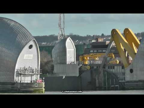 Flooding Emergency: London's River Thames Barrier Opens After Being Closed