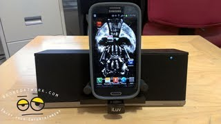 ILuv MobiAir Galaxy SIII/Android Bluetooth Speaker Dock
