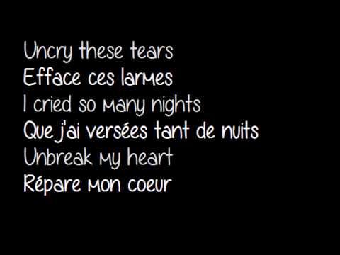 Toni- Un break my heart - Traduction + parole.