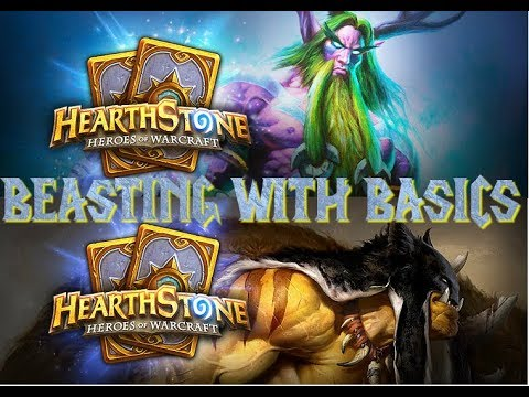 Let's Play Hearthstone | Beasting with Basic Decks | Part 01