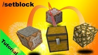 Setblock Command Tutorial And Parkour Minigame In