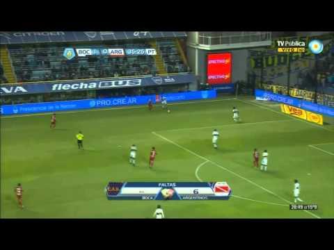 Boca 1 - 1 Argentinos Juniors - Fecha 6 Torneo Final 2013