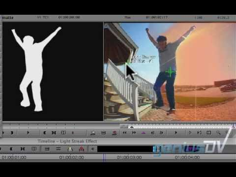 Light Streak Freeze Frame Effect for Avid Media Composer