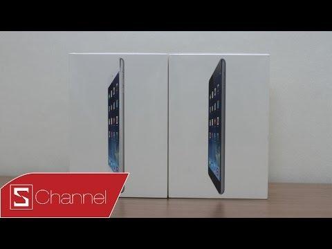 Mở hộp iPad mini 2: Màn hình retina, chip A7, thiết kế quen thuộc