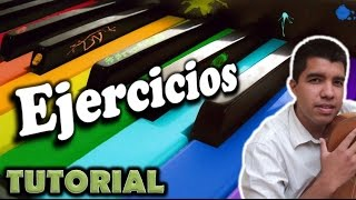 Como Tocar Piano- Ejercicios Sencillos- Clases De Piano