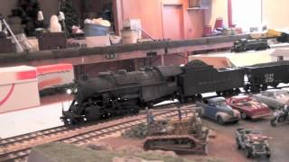 Running S Scale Trains On Modules In South Amboy NJ