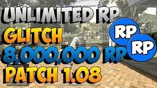 GTA V Online *NEW* Unlimited RP Glitch After Patch 1.09