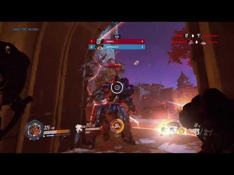 Winning a overwatch death match game