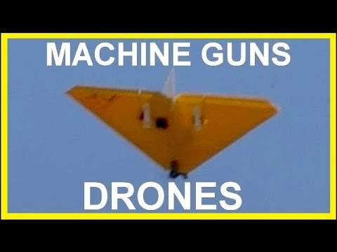Shooting Down Drones with Machine Guns (extras)