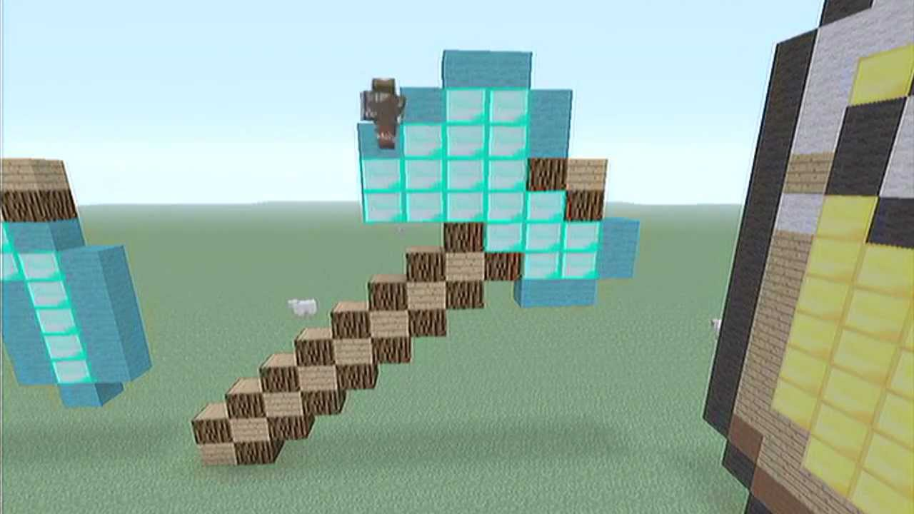 Diamond axe minecraft