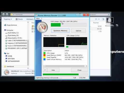 Jak wykonać optymalizację pamięci RAM