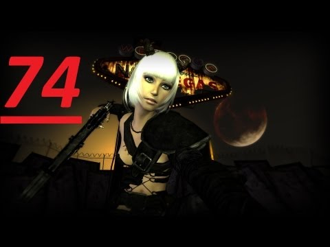 Lets Play FallOut New Vegas EP74  Lesbo Sex