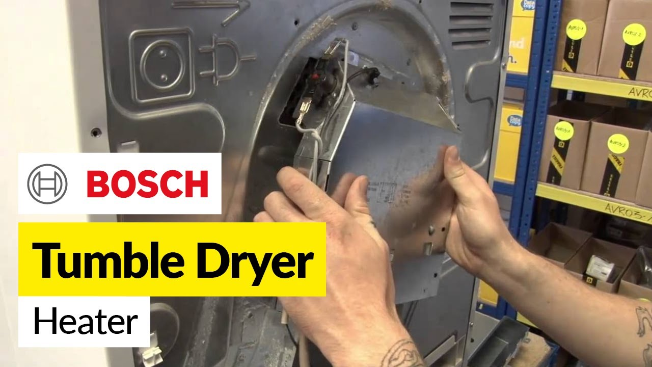 How To Replace A Tumble Dryer Heating Element In A Bosch