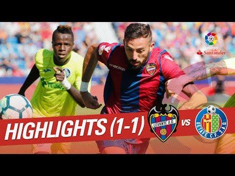 Resumen de Levante UD vs Getafe CF (1-1)