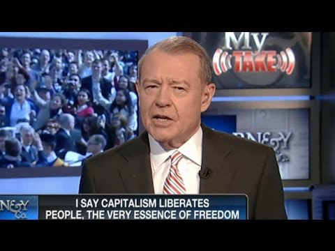 Stuart Varney Lectures The Pope About Capitalism