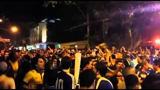Torcedores do Cruzeiro fazem festa no Mineir�o