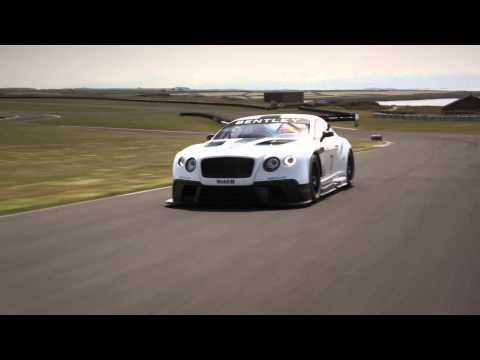 2013 Bentley Continental GT3 revealed