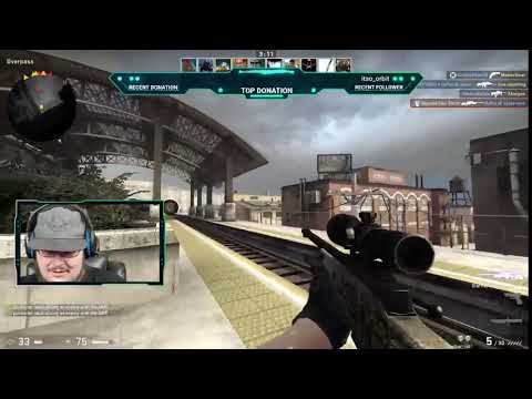 Highlight CSGO Deathmatch the bushes are your best friend lol