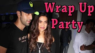 Ranbir Kapoor & Deepika Padukone Together At Wrap Up Party