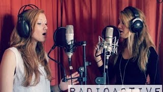 Radioactive -- Coldplay Mash-Up cover - Carlijn & Merle ft. Luuk @CarlijnandMerle