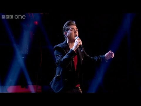 The Voice UK 2013 | Karl Michael performs 'I Believe I Can Fly' - The Live Semi-Finals - BBC One