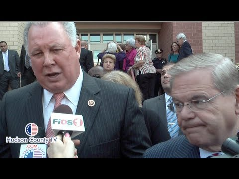 Congressman Sires and U.S. Senator Menendez talk about the government shutdown