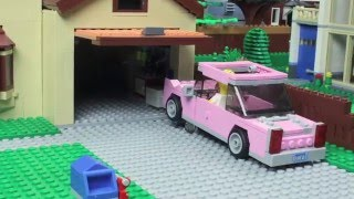 Simpsons Couch Gag: The LEGO Version
