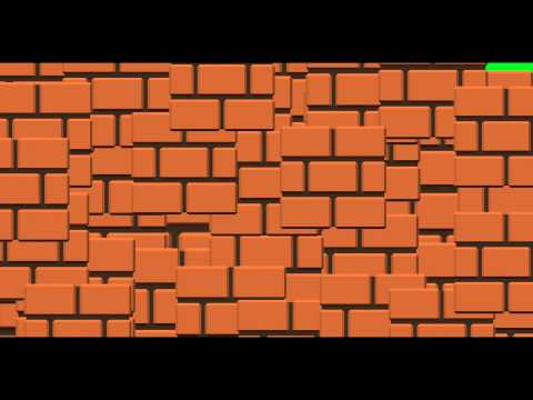Mario Blocks Transition - Green Screen Animation