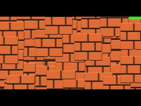 Mario Blocks Transition - Green Screen Animation