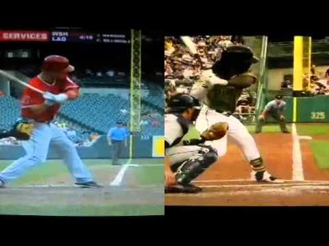 Mike Trout & Andrew McCutchen-Compact Swing Mechanics