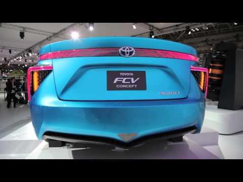 2014 Toyota FCV Concept - 2013 Tokyo Motor Show