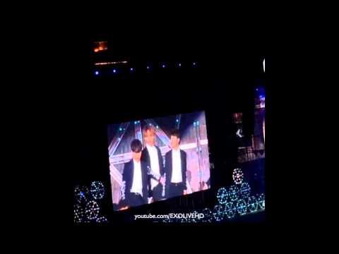 [Fancam] 141018 EXO 'Growl' at SMTOWN World Tour in Shanghai