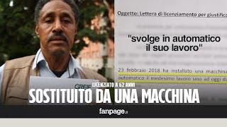مغربي يحتج بإيطاليا بعدما تقطعو ليه صباعو فشركة إيطالية و جراو عليه ( فيديو) | قنوات أخرى